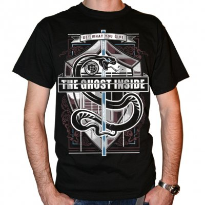 The Ghost Inside - Snake Crest | T-Shirt