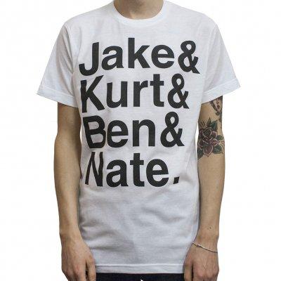 Converge - Names White   T-Shirt