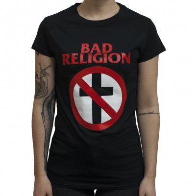 Bad Religion - Cross Buster | Girl Fitted T-Shirt