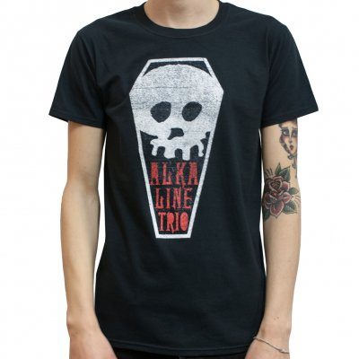 Alkaline Trio - Skull Coffin | T-Shirts