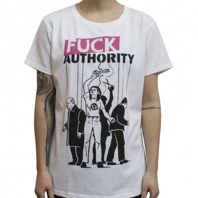 Pennywise - Fuck Authority | Fitted Girl T-Shirt