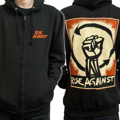 Rise Against - Fist Poster | Zip-Hood