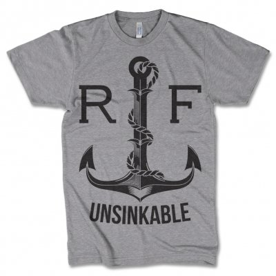 raised-fist - Unsinkable Grey | T-Shirt