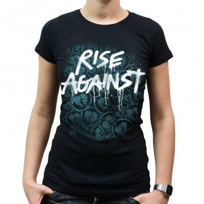 rise-against - Vandal | Girl Fitted T-Shirt