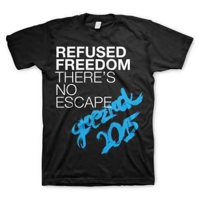 refused - No Escape Groezrock 2015 | T-Shirt