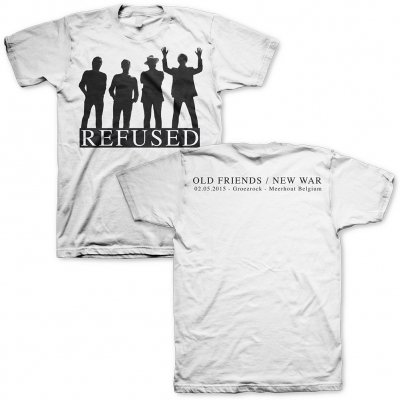 Refused - Old Friends/New War Groezrock 2015 | T-Shirt
