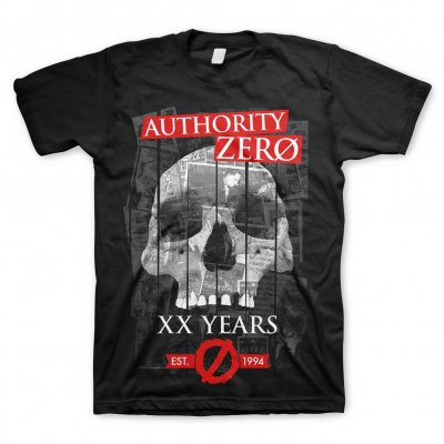 authority-zero - XX Years Skull | T-Shirt