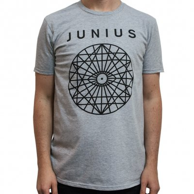 junius - Mandala Gray | T-Shirt