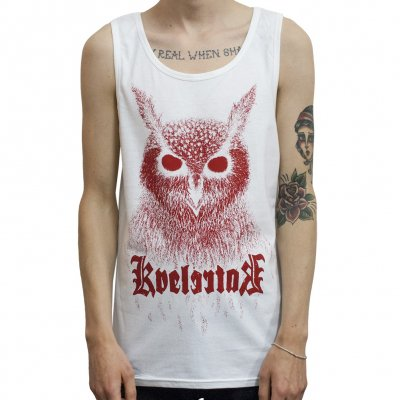 kvelertak - Barlett Owl White| Tank Top