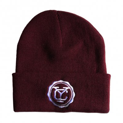 Yellowcard - YC Logo Burgundy | Beanie
