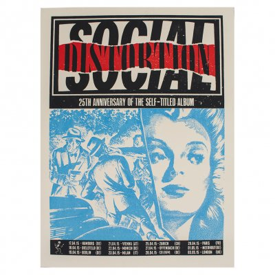 Social Distortion - 25th Anniversary | Poster