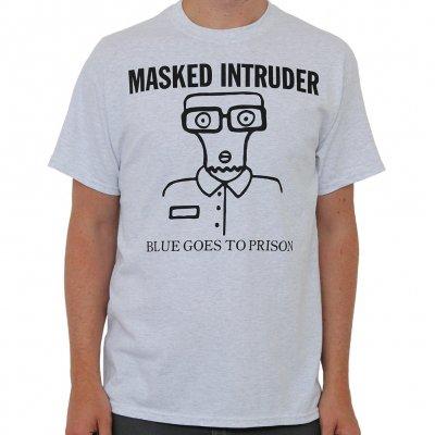 masked-intruder - Blue Goes |T-Shirt