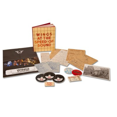 paul-mccartney - Wings At The Speed Of Sound CD Box Set