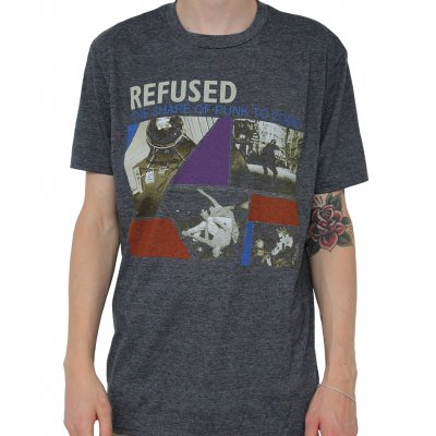 refused - The Shape Of Punk Gray | T-Shirt