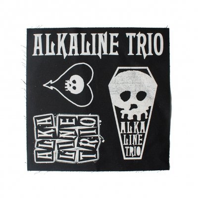 Alkaline Trio - ALk3 Designs | Patch