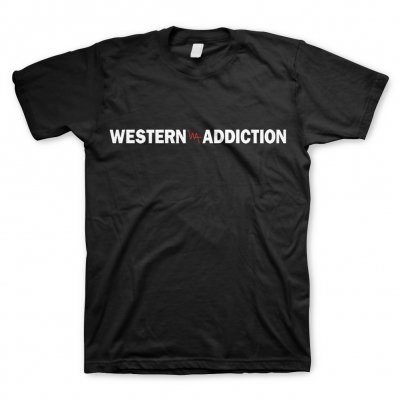 western-addiction - Logo | T-Shirt