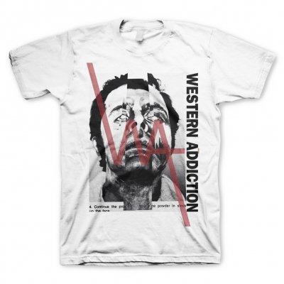 western-addiction - Face | T-Shirt