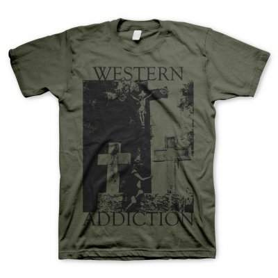western-addiction - Cross | T-Shirt