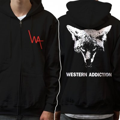 Western Addiction - Coyote | Zip Hood