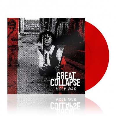 great-collapse - Holy War | Translucent Red Vinyl