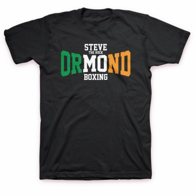 murphys-boxing - Steve The Rock Ormond Logo | T-Shirt