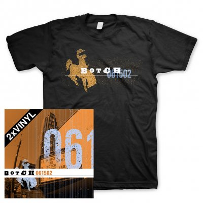 Botch - 061502 | 2xBlack Vinyl+T-Shirt Bundle