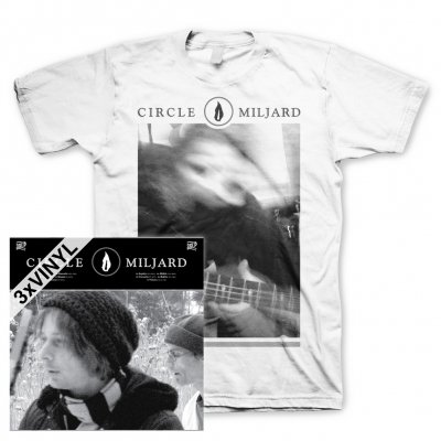 Circle - Miljard | 3xClear Vinyl+T-Shirt Bundle
