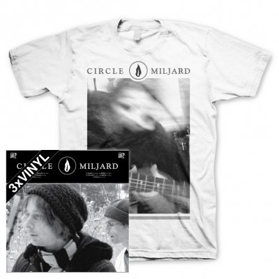 Circle - Miljard | 3xBlack Vinyl+T-Shirt Bundle