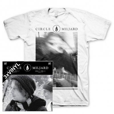 Circle - Miljard |3xBlack Vinyl+T-Shirt Bundle