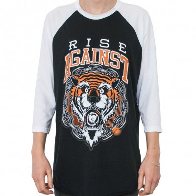 Rise Against - Tiger Bomb | 3/4 Baseball Longsleeve