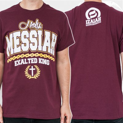 izaiah - Messiah Burgundy | T-Shirt