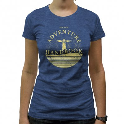 Rob Moir - Lighthouse | Fitted Girl T-Shirt