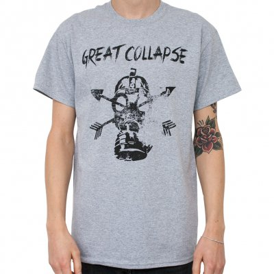great-collapse - Mask Grey | T-Shirt