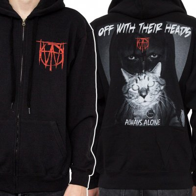 Off With Their Heads - Always Alone | Zip Hood