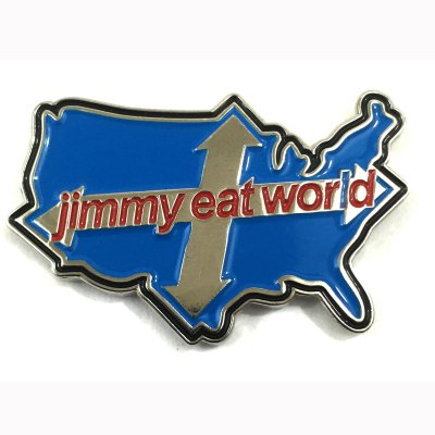 jimmy-eat-world - Across America | Enamel Pin