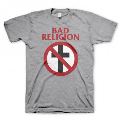 bad-religion - Crossbuster Heather Gray | T-Shirt