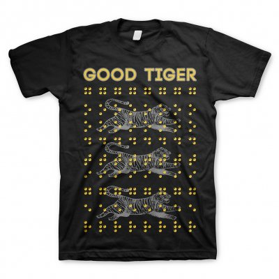 good-tiger - Braille | T-Shirt
