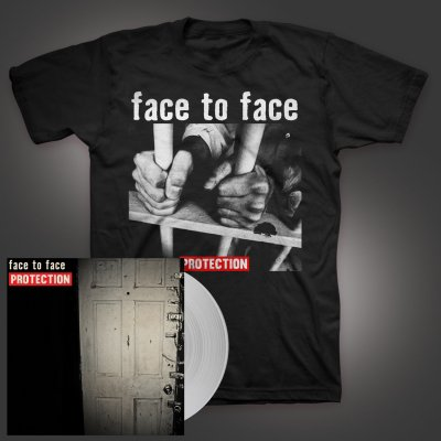 shop - Protection/Prison Bars | Clear LP+T-Shirt Bundle