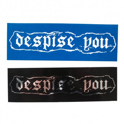 Despise You - Logo | Sticker