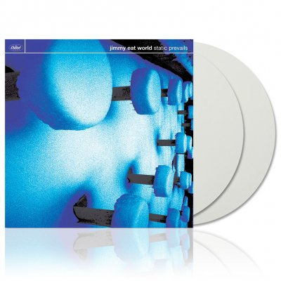 Jimmy Eat World - Static Prevails | 2xOpaque White Vinyl