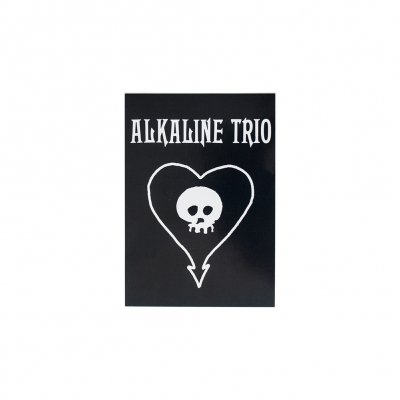 Alkaline Trio - Heart Skull | Sticker