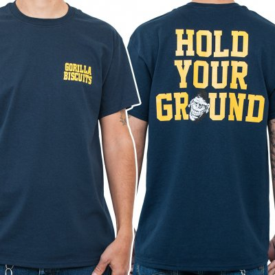 gorilla-biscuits - Hold Your Ground Pocket | T-Shirt