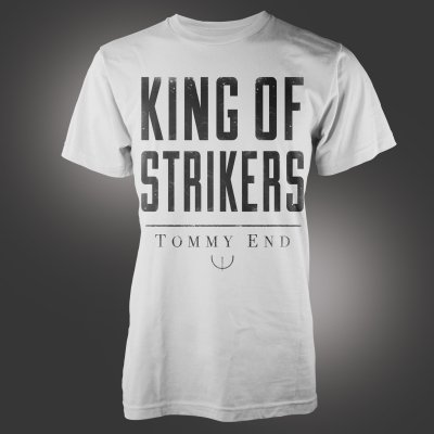 Sumerian Death Squad - King Of Strikers White | T-Shirt