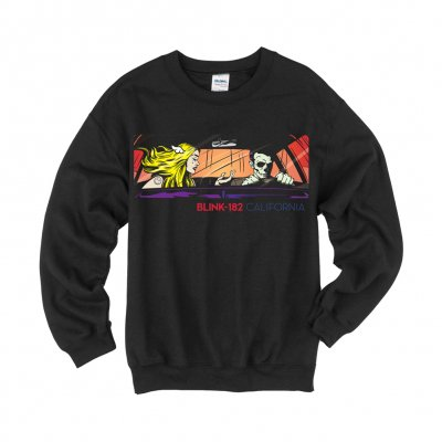 Blink 182 - California | Crewneck Sweatshirt