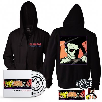 Blink 182 - California CD + Zip-Hood Bundle