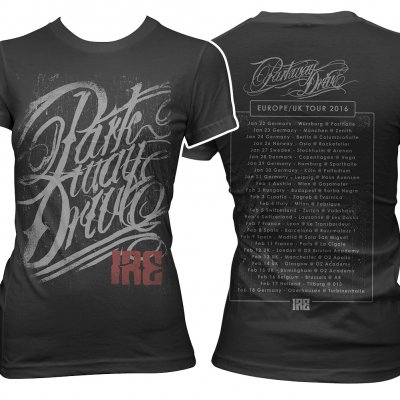 parkway-drive - Ire Tour 2016 | Fitted Girl T-Shirt