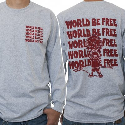 World Be Free - Globe | Longsleeve