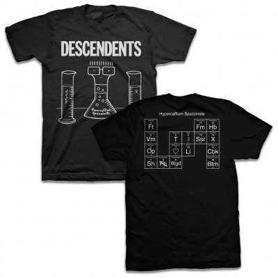 Descendents - Hypercaffium Spazzinate Black | T-Shirt