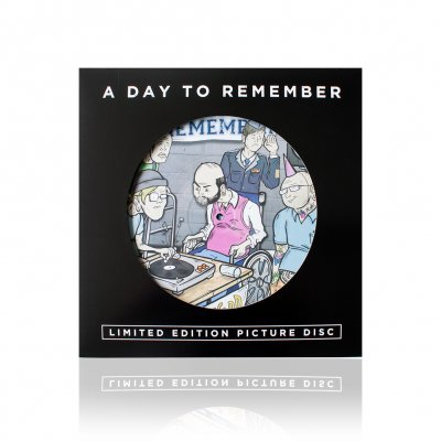 a-day-to-remember - Old Record | Picture LP