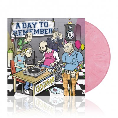 a-day-to-remember - Old Record | Pink Marble Vinyl